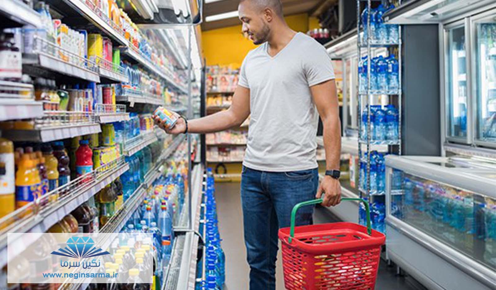 جذب مشتری با تجهیزات فروشگاهی-نگین سرما