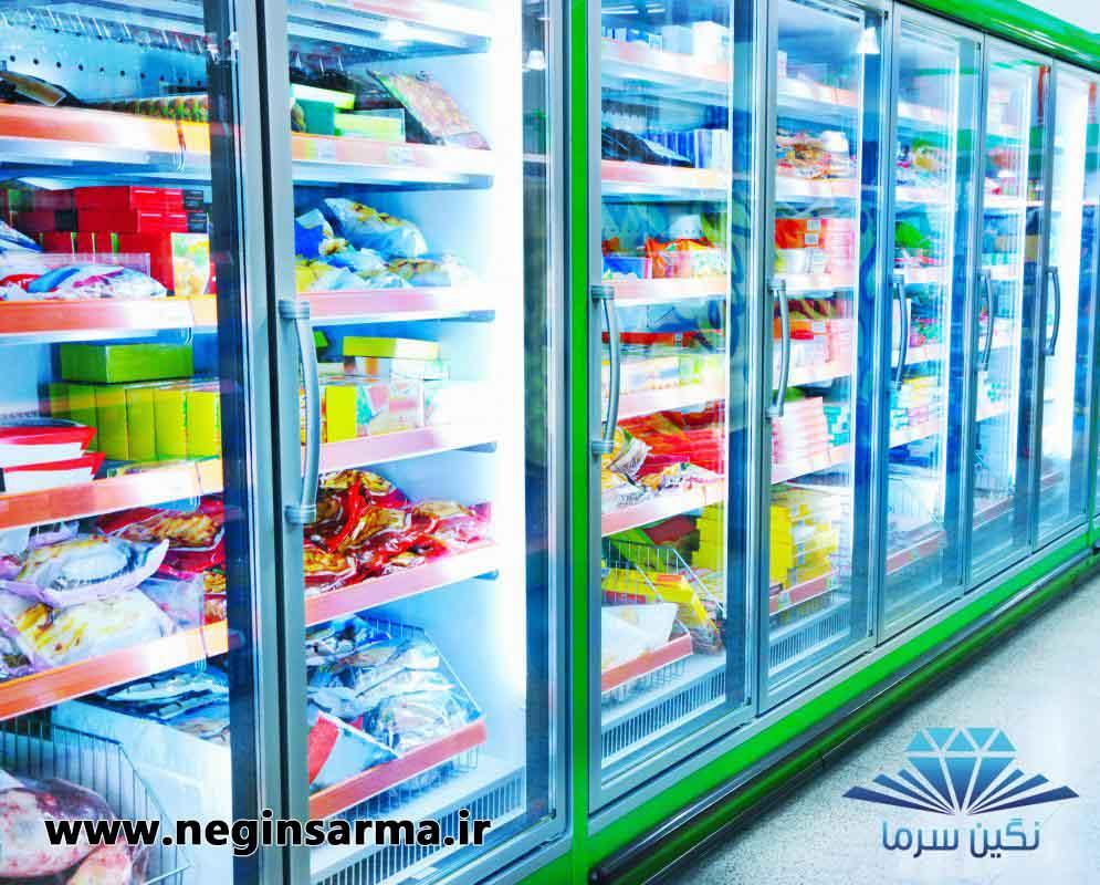 انواع یخچال و فریزرهای صنعتی شرکت نگین سرما