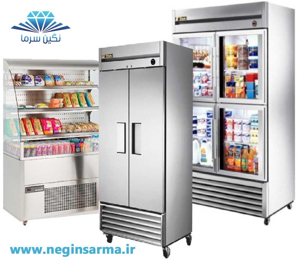 تعمیر انواع یخچال صنعتی و فروشگاهی نگین سرما