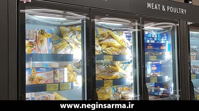خصوصیات یخچال صنعتی فروشگاهی -انواع یخچال صنعتی