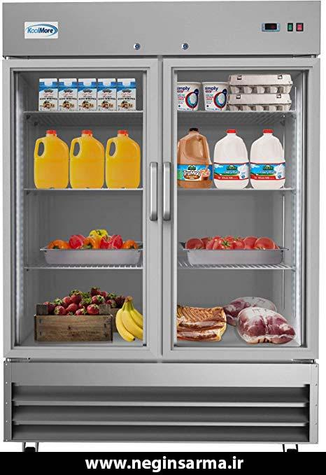 خصوصیات یخچال صنعتی فروشگاهی - نگین سرما