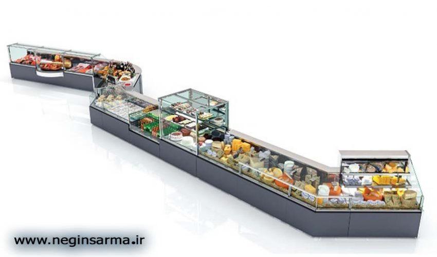 خرید انواع یخچال صنعتی ویترینی