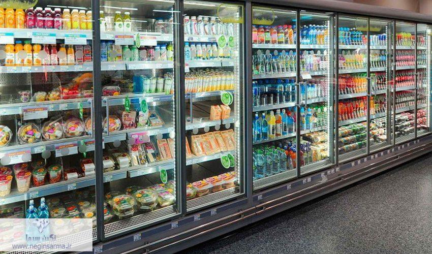 فروشگاه بزرگ یخچال صنعتی