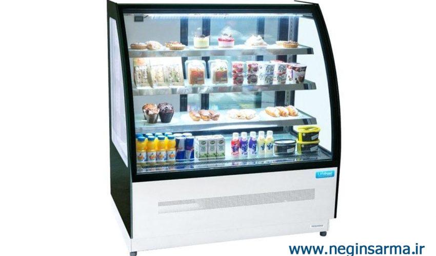 انواع یخچال صنعتی ایستاده فروشگاهی -نگین سرما