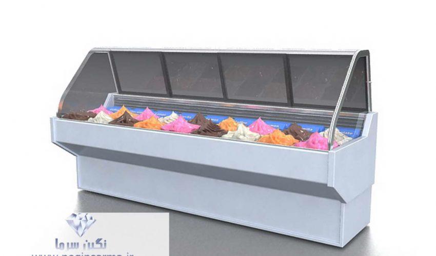 یخچال صنعتی برای بستنی فروشی ها